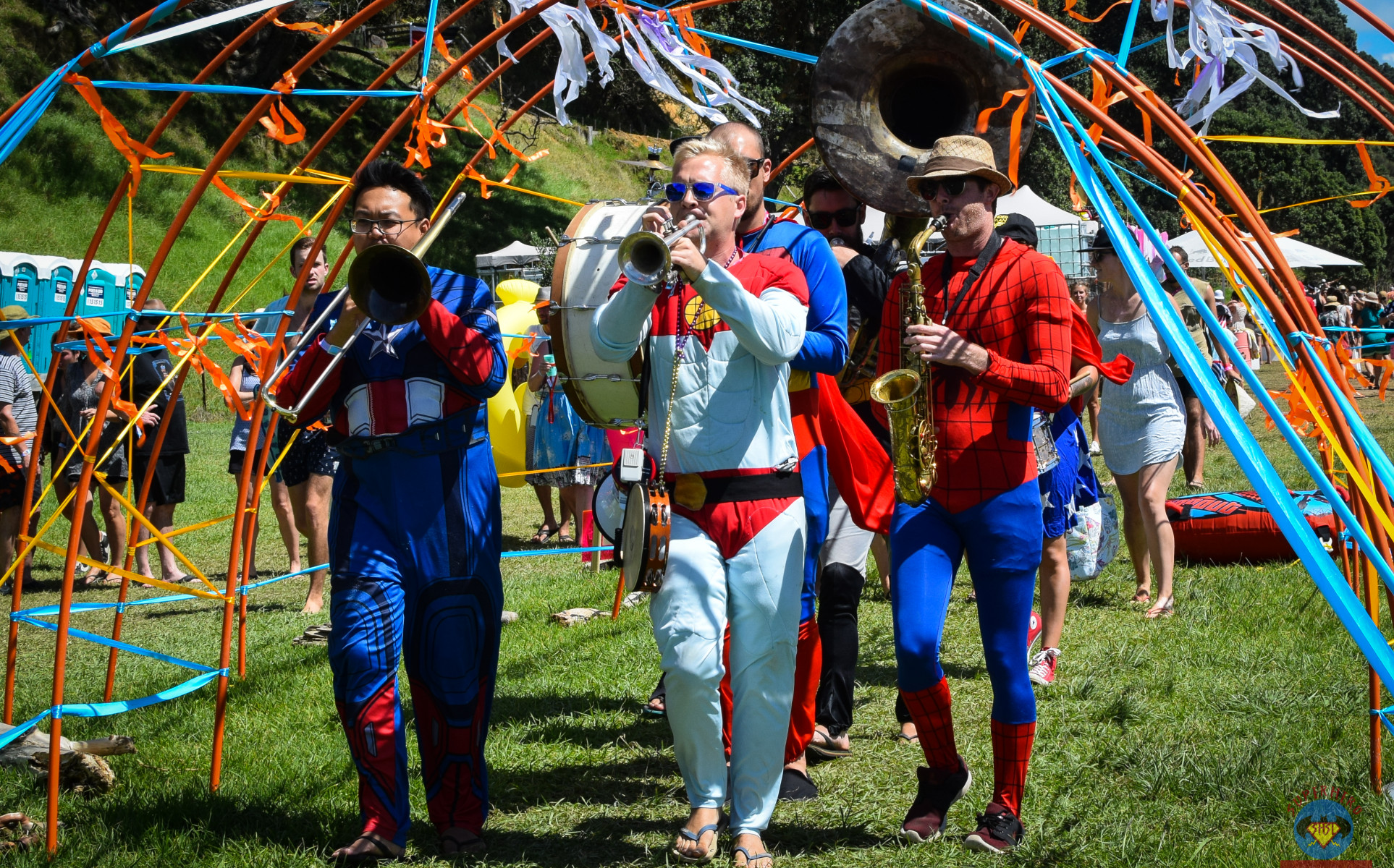 Auckland Bands for Hire | Cover Bands | Weddings | Events - Superhero Second Line